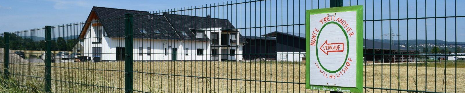 Haus mit Schild